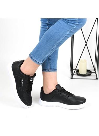 Bestof 042 Unisex Günlük Sneaker Spor Ayakkabı Siyah